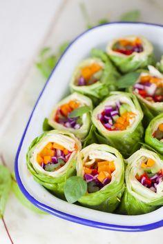 Bento Box, Lunch Box, Fresh Rolls, Cucumber, Zucchini, Food And Drink, Menu, Snacks, Vegetables