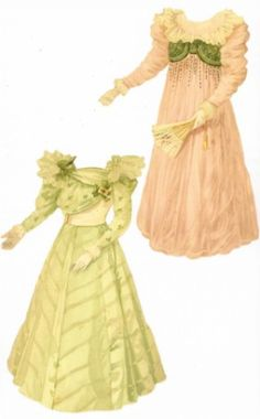 Dress-up in 1900* Christmas paper dolls The International Paper Doll Society Arielle Gabriel artist #QuanYin5 Twitter, Linked In QuanYin5 *