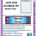 Who doesn't like cupcakes? I've designed this calendar set for the upcoming school year with a cupcake theme. Grab a copy!! Please leave feedback a...