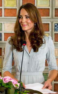 Catherine, Duchess of Cambridge delivers a speech at Hospis Malaysia during the Diamond Jubilee Tour of South East Asia on September 13, 2012 in in Kuala Lumpur, Malaysia.