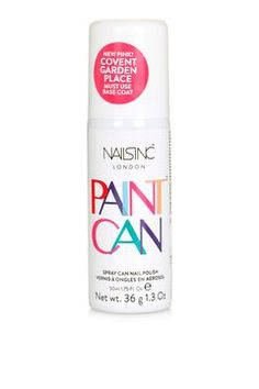 Paint Can in Covent Garden Place by Nails Inc