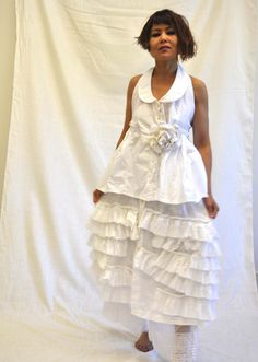 pamwhite in Butterfly Cami and Strudel skirt by Krista Larson