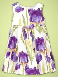 C's Easter dress!