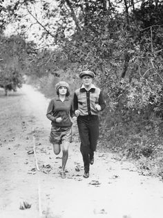 Vintage Workouts: Exercises We Still Do: Running Together