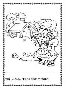 Láminas del cuento:                                                                       Dibujos del cuento para colorear:                 ...