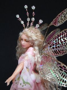 *POLYMER CLAY ~ Fantasy Art Dolls by CDHM Artist Deb Wood