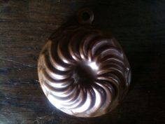 Vintage French Copper Cake Jelly Sweet Pudding by EnglishShop