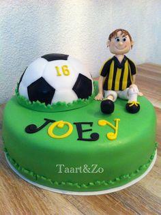Vitesse voetbal taart