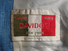 1960s Suit by Davidow | The Vintage Traveler