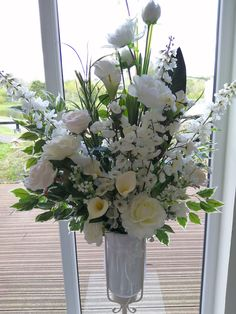 Pedestal Flower Arrangement for your wedding ceremony. Available to hire from www.limelightweddings.co.uk Wedding Place Settings, Wedding Calligraphy, Pedestal, Wedding Ceremony, Flower Arrangements, Place Cards, Floral Wreath, Wreaths, Weddings