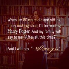 "Alan Rickman on ""Harry Potter."" Don't mind me, just sobbing uncontrollably."