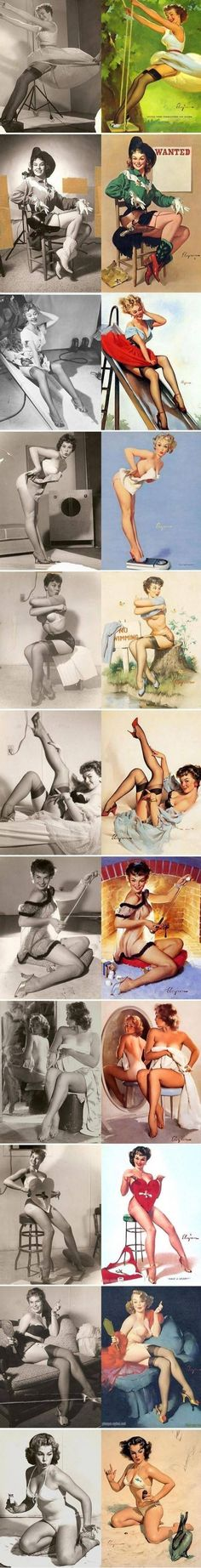 43 Ideas Retro Vintage Art Pin Up Gil Elvgren Vintage Pins, Vintage Art, Vintage Posters, Vintage Woman, Vintage Drawing, Retro Art, Vintage Photos, Model Posing, Color Draw