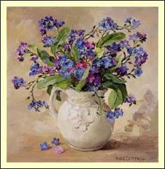Detailed image of our Forget-me-nots - Anne Cotterill@@
