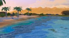 Mod The Sims - Tropical Beach with Real Waves!