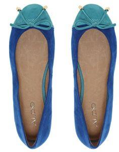 Ballerina shoes by Aldo