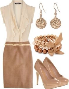 Business Casual - love the neutral!
