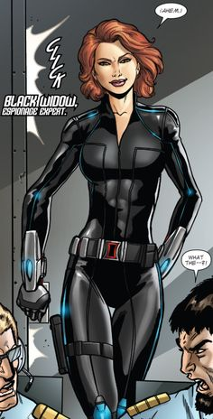 Black Widow in Avengers: Operation Hydra #1 (2015)