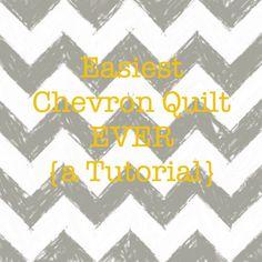 kelbysews: Easiest Chevron Quilt EVER {a Tutorial}