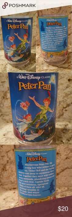 Peter Pan 1994 Vintage Cup Collectable MADE IN USA 1994 Originally Promotion Item Sold thru Burger King.  New unused no box  (Consider bundling to get more value out of the cost of Shipping and feel free to make offers on bundles) Thank you for visiting my closet!! SMOKE FREE CLEAN HOME Disney Other