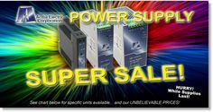 If you haven't taken a moment to check out these amazing prices from our Acme Electric Power Supply Super Sale, here's your chance! These #Clearance items will go FAST!    Hurry, while supplies last!    http://www.galco.com/acme-clearance.htm