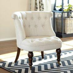 Milly Tufted Chair | Ballard Designs @Courtenay Homan more keebler chairs:)