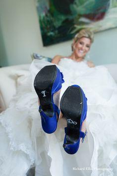 I Do wedding shoes! Great bride details