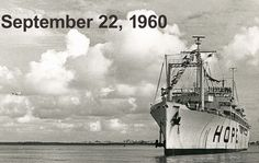 celebrate the 54th anniversary of the maiden voyage of the SS HOPE on September 22, 1960. Can you help us pin this photo 54 times ? #HOPEISALIVE