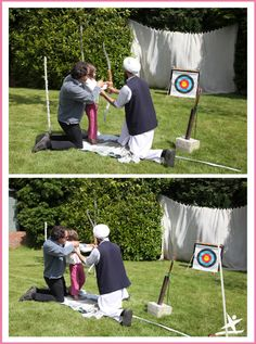 archery at the club 2015 https://thelittleexplorersactivityclub.wordpress.com/