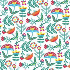 Fabric pattern design inspired by Chinese folklore and papercutting techniques by Kuanth | Illustrious World | #Illustriousio