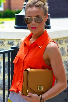 5 Lipstick and Shades Combinations for Summer