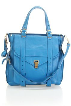 Proenza Schouler PS1 Large Tote In Sky Blue - Beyond the Rack