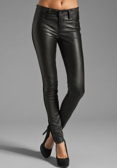 MARC BY MARC JACOBS Resort Mirah Leather Pant in Black