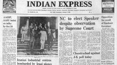 Forty Years Ago October 8 1980: Assam Talks Opinion News, Students' Union, Indian Express, October 8, Chief Justice, Tv Station, The Agency