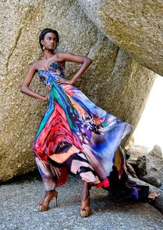 Amazing shoot of model Deeliana Twinkle in some of the astonishing pieces witnessed from Hendrik Vermeulen's Insecta Mirabilis collection. The collection mimics Vintage Mode, See Images, Black Artists, Hot Shots, Look Younger, Mode Inspiration, Hottest Models, African Art, Looking For Women