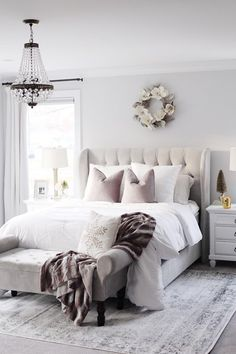 8 Teen Bedroom Themes That Are Cool - Best Home Remodel Simple Bedroom Decor, Trendy Bedroom, Home Decor Bedroom, Modern Bedroom, Bedroom Furniture, Unique Teen Bedrooms, Bedroom Lamps, White Bedroom, Master Bedroom