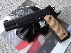 Nighthawk Custom 1911 1911 Grips, 1911 Pistol, Revolver, Custom 1911, Handgun, Firearms, Cool Guns, Guns And Ammo, Tactical Gear