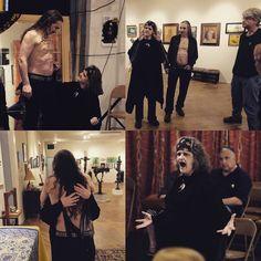 Love&Art at @spectacleandmirth 's #shenfringe ! Photos by Norman Schaefer. #madpoetry #MadLove #epicstorieslastforever #Shakespeare