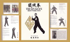 Martial Arts Books, Iron Wire, Wing Chun, Book Collection, Book Art, Image
