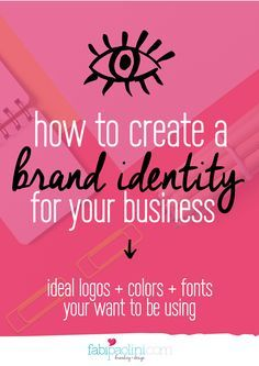 How to brand your business! Choosing logo, colors and fonts that truly build your brand. Free guide inside with all the deets! Check it out!