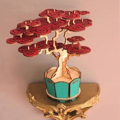 Prunus Bonsai Tree - could easily designed as a jewelry tree...