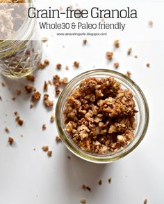 a traveling Wife: Grain-free Granola [Whole30 and Paleo Friendly]