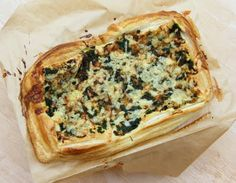 Tinned Tomatoes: Spinach & Onion Puff Tart