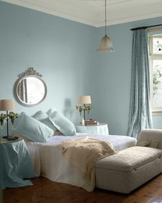 2015 paint colour trends| Techies by day need a retreat at night, and Sico's colour trends for the year create a calm, serene environment and much-needed respite from our busy lives | @styleathome