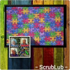 Scrub Hats Autism Puzzle Medical Scrub Caps, ASD Awareness Chemo Hats 5 styles Unique and Fun Surgical Hats for Men and Women by ScrubLub - GS Handmade Medical Scrubs, Scrub Caps, I Love Lucy, Dark Colors, Hats For Men, Unique, Asd, Fabric, Pattern