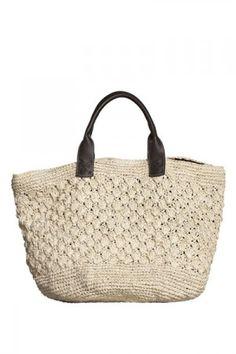 Ondademar Straw Beach Bag