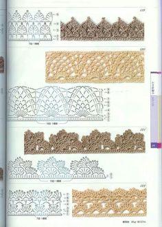 Äärepitsid - Crochet edges <3