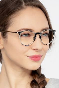 Tortoise round eyeglasses available in variety of colors to match any outfit. These stylish full-rim, large sized metal eyeglasses include free single-vision prescription lenses, a case and a cleaning cloth. Best Eyeglasses, Eyeglasses Frames For Women, Round Eyeglasses, Best Eyeglass Frames, Prescription Glasses Frames, Prescription Lenses, John Lennon Glasses, Glasses Outfit, Accessories
