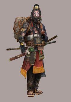 Image result for shogun 2 concept art ashigaru