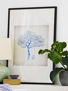 Art in Dress Up Your Design: Accessorize a Bland Living Room from HGTV