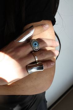 Need to find where this evil eye ring came from!